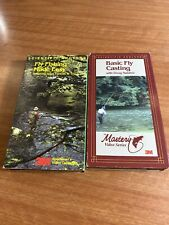 Fly Fishing Instruction Vhs Tapes (2)