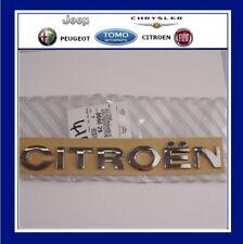 """Véritable chrome """"CITROEN"""" NEMO chargement arrière porte badge / autocollant / emblème / motif 866626"""
