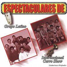 Internacional Carro Show : Espectaculares Grupo Latino Y Internacio CD
