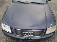 Motorhaube Audi A6 4B FACELIFT mingblau LZ5L Haube blau