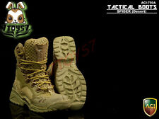 ACI Toys 1/6 Tactical Boots - Spider_ Desert Boots w/ case _Military Bid  AT052A