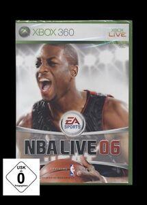 XBOX 360 NBA LIVE 2006 / 06 - EA SPORTS - BASKETBALL *** NEU ***