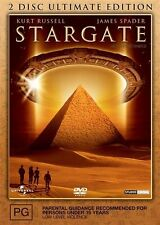 Stargate - 2 DISC ULTIMATE EDITION- DVDS VERY GOOD CONDITION FREE POST AUS R4