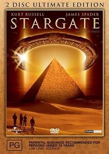 Stargate (DVD, 2004) (2 Disc) Kurt Russell + James Spader
