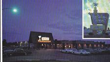 Postcard IRON GATE RESTAURANT Gaylord MI Holiday Inn hotel motel Chrome