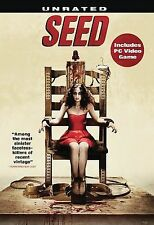 Seed DVD, 2008, Unrated Horror + Includes PC game. Brand New Sealed!!