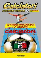 ALBUM PANINI CALCIATORI LA RACCOLTA COMPLETA 1967-68 1968 GAZZETTA DELLO SPORT