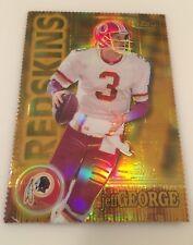 2000 Finest JEFF GEORGE Washington Redskins GOLD REFRACTOR 134/300 RARE Mint!