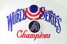Arizona Diamondbacks World Series embroidered adjustable baseball hat cap