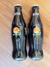 "San Francisco 49ers 8oz Glass Coca Cola Bottles ""NEVER OPENED"" Best of the Bay"
