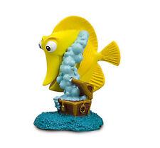 Disney Store Finding Nemo Bubbles Yellow Fish Figure Figurine Cake Topper