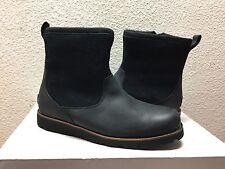 UGG MEN HENDREN TL BLACK WATERPROOF LEATHER Boot US 9 / EU 42 / UK 8 - NEW