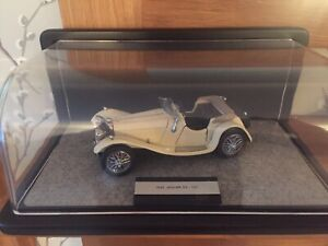 franklin mint diecast '1938 Jaguar SS - 100' With Display Case