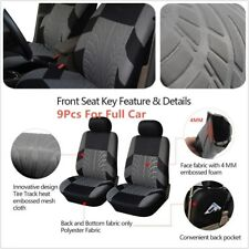 Classic Washable Embroidery Car Seat Covers Set Universal Fit Most Brand Vehicle