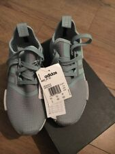 adidas originals nmdr1 women's Uk 3.5 CQ1877 Bluey Green Trainers
