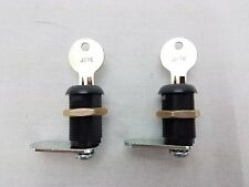 2X 30mm Cam Locks Keyed Alike For Mailbox, Enclosure, Cabinets, Desks, Drawers