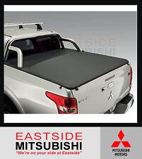 GENUINE MITSUBISHI MQ TRITON SOFT TONNEAU COVER DUAL CAB WITH SPORTS BAR 1/2015-