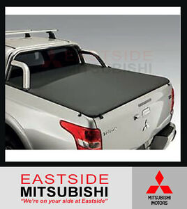 GENUINE MITSUBISHI MQ MR TRITON SOFT TONNEAU COVER DUAL CAB SUIT SPORTS BAR