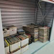 Lot Of 4650 Vintage And Modern Vinyl Records