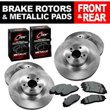 FRONT + REAR Set of (4) Brake Rotors and (2) Sets Brake Pads Fits Ford Escape