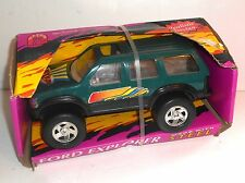 Vintage Ford Motor Company FORD EXPLORER (Green) TRUCK by Starkid - Boxed