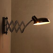 Loft vintage iron wall lamp E27 indoor wall light led bedroom mirror wall sconce