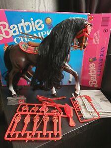Vintage Barbie Horse Champion Boxed. Rare!