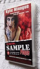 SAMPLE PEOPLE - SEX, DRUGS AND KYLIE (DVD) R-ALL. VERY GOOD, FREE POST AUS-WIDE