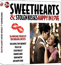 Sweethearts And Stolen Kisses - Happy In Love - 2 CD SET - HITS OF THE 50'S NEW