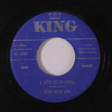 LITTLE WILLIE JOHN: A Little Bit Of Loving / Will The Sun Shine Tomorrow 45 (cl