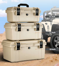 Waterproof Hard Case Hardware Tool Portable Parts Fishing Organize Box with Tray