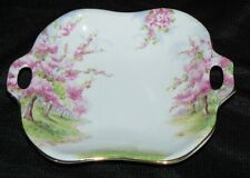 Royal Albert Blossom Time Candy Nut Bon Bon Dish Open Handle EUC
