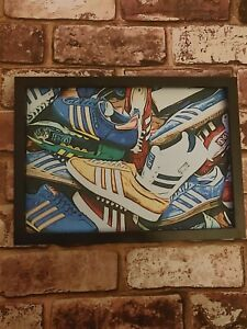 ADIDAS Trainers Casuals Pop Art Tribute Picture A4