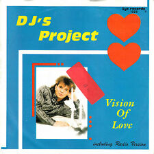 "DJ's PROJECT - Vision of Love > 7"" Vinyl Single"