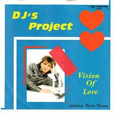 "DJ's PROJECT - Vision of Love ★ 7"" Vinyl Single"