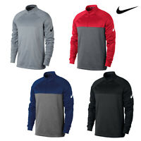 Nike Men's Therma Fit Half Zip Top (NK266) - Water-Repellent Stretchy Golf Top