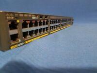 Cisco WS-C2960X-48TS-LL Catalyst switch 2960x 2960-X 48 GigE 2x 1G SFP Lan LITE
