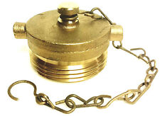 1 12 Hydrant Hose Or Fire Department Connection Fdc Brass Plug Amp Chain
