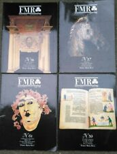 1987 'FMR' 4 NUMERI DELLA FAMOSA RIVISTA DI FRANCO MARIA RICCI ARTE ANTIQUARIATO