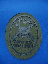 PORTUGAL MILITARY 2 CAT OLHAR EM FRENTE AJUDAR A LIBERTAR PATCH 63mm