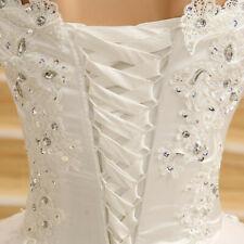 Brautkleid in Gr.46 in der Farbe Weiß 1x für 1 1/2 Stunden getragen