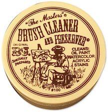 "B&J ""The Masters"" Brush Cleaner and Preserver 1oz Jar 100"