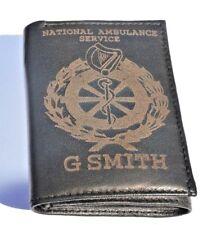 IRISH NATIONAL AMBULANCE SERVICE PERSONALISED GIFT WALLET ENGRAVED ANY NAME/NO