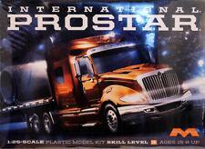 International Prostar Truck Lastzug in 1:25 Model Kit Bausatz Moebius 1301