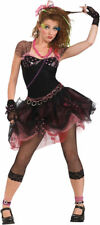 Morris Costumes Women's 1980s Diva Madonna Pop Rock Complete Outfit. RU888678