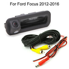 Car Trunk Handle CCD Rear View Parking Camera For Ford Focus 2011-2016