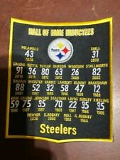 """🏈NEW 6 X 7"""" PITTSBURGH STEELERS HALL OF FAME BANNER FREE SHIP🏈C1"""