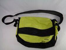LL Bean Green Cross Body Shoulder Messenger Courier Bag LLB 0GJP6