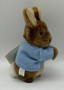 Vintage 1986 EDEN Plush Beatrix Potter Peter Rabbit Miniature Hugger Hug Toy