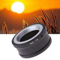 New M42 Lens to Fujifilm X Mount Fuji X-Pro1 X-M1 X-E1 Adapter M42-FX Ring V2M5